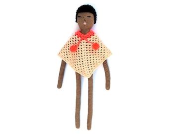 """Crochet doll pattern """"Mila"""""""