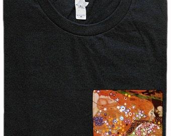 Water Serpents Pocket Shirt (Gustav Klimt)