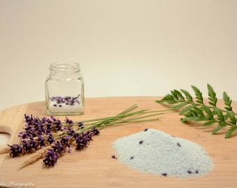 Lavender Epsom Salt Bath Soak (16oz)