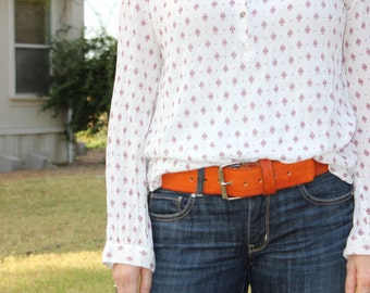 """The Everyday Belt. This a 2"""" wide all leather belt.  Great for all styles.  Goes with everything, thats why we call it the Everyday Belt !!"""