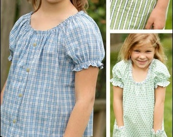 Indygo Junction IJ953 - Peasant Top & Tunic Pattern