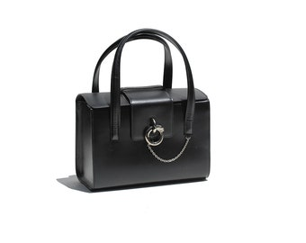 Authentic Cartier France Vanity Hand Bag
