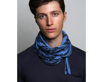 Cowl, Blue Cowl, Gifts for Men, Gifts for Him, Gift ideas, For Him, Mens Gift, Mens Gift, Hipster, Boyfriend Gift, Boyfriend, Cowl Blue