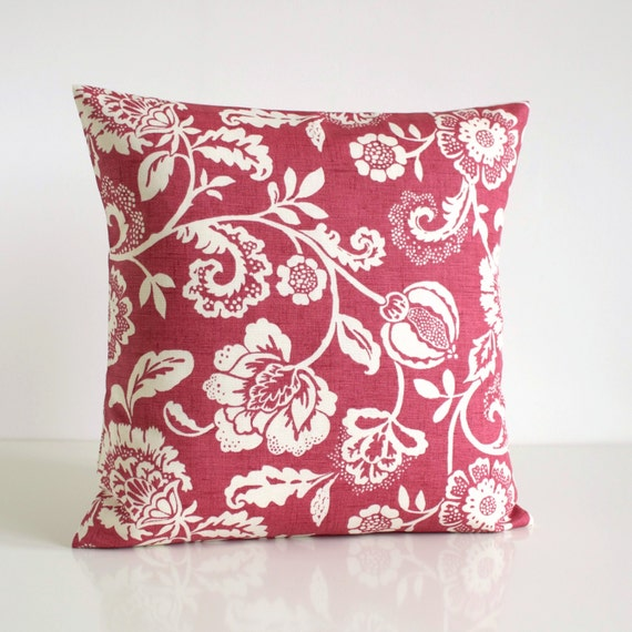 Throw Pillow Cover Floral Cushion Cover French by CoupleHome