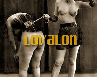 MATURE... 1930's BDSM... Instant Digital Download... Vintage Erotic Fetish Photograph... Vintage Nude Photo
