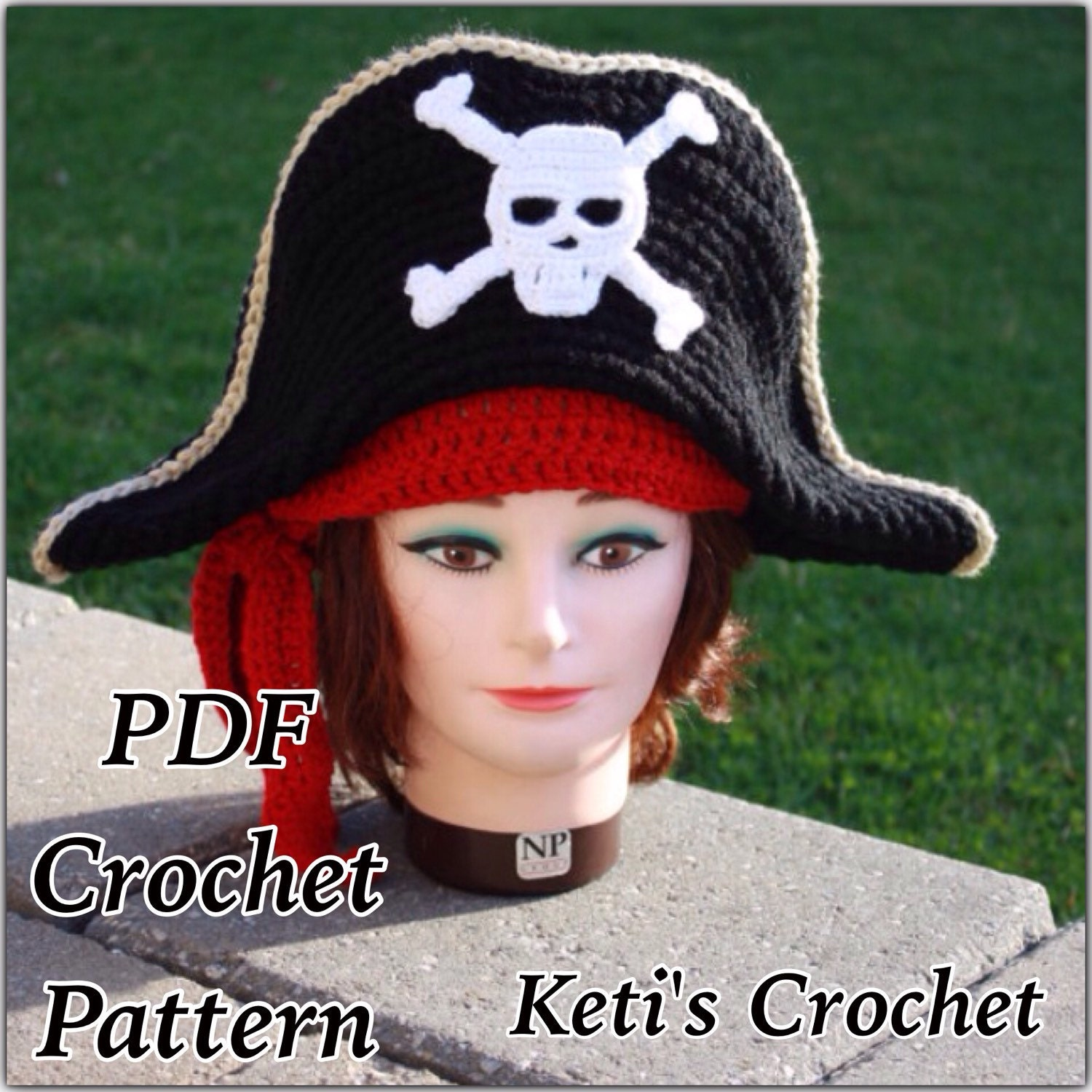 Crochet patternadult pirate hatpirate hat crochet pattern crochet patternadult pirate hatpirate hat crochet patterncrochet hat patternpirate costume crochet patternhalloween costumepirate hat bankloansurffo Image collections