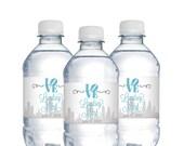 Wedding Water Bottle Labels,Waterproof Label,Philadelphia,Personalized Labels,Wedding Welcome Bags,Personalized Wedding,Bridal Shower Labels