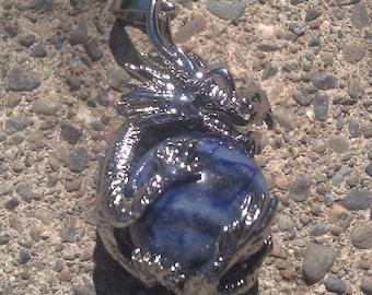 Dragon w/Lapis Pendant