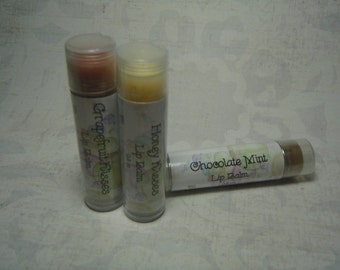 All Natural Lip Balm with Organic Shea Butter