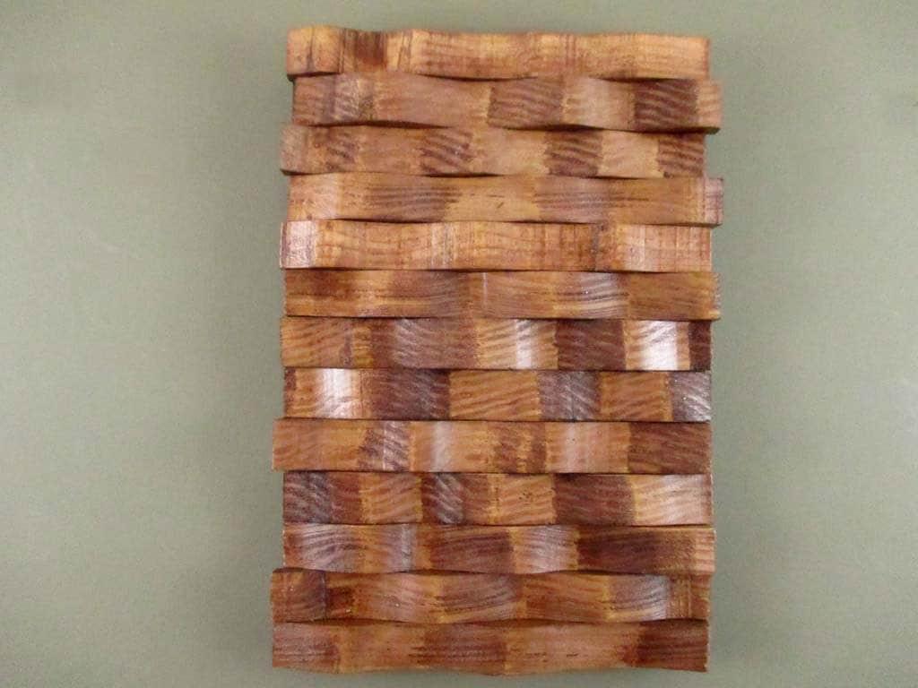 Custom Wood Wall Decor : Custom wall art wood hanging woven