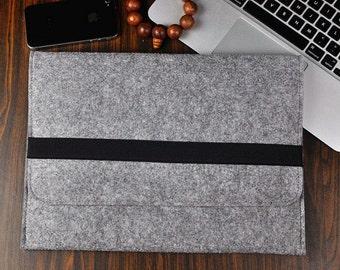 Laptop bag , Felt laptop case ,Hand bags , 11 inch laptop sleeve, Felt case 13 inch. Felt bag 15 inch, Bag, Gray messenger bag, 3A426