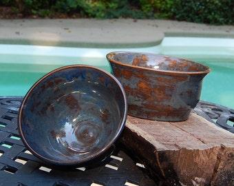 Pair of Nesting Ceramic Bowls