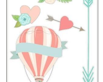 G014- Hot Air Balloon Style 3