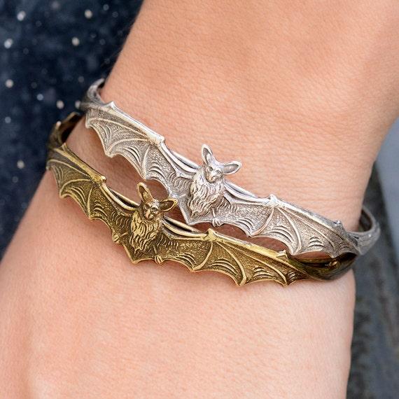 Halloween Bat Bracelet