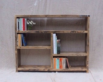 EDEN | Reclaimed Wood Bookcase - Handmade & Bespoke