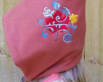 Autumn Harvest Fleece Pixie Hat - Toddler and Child - Multiple Sizes