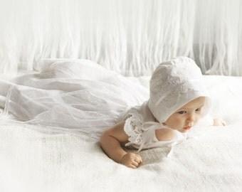 Baptism Dress-Flower Girl Dress-baby dress-Baby girl Clothes-Newborn Girl Dress-Christmas Dress-Baby Dress-Christening Dress-size 0m-9m