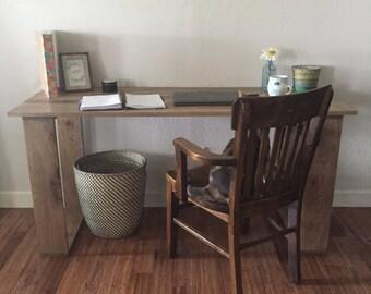 Solid oak desk/ solid table/ office/ computer desk