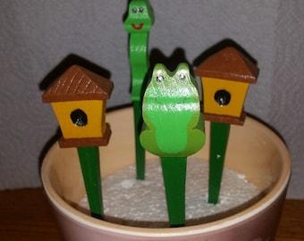 Wooden Plant Pot Sticks