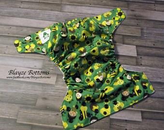 Happy Bees OS Pocket Cloth Diaper
