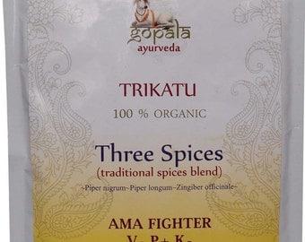 Trikatu Powder (USDA Certified Organic) - Gopala Ayurveda