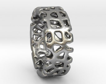 Voronoi Man Ring