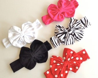 Cotton Bow Headbands (Choose your Color)