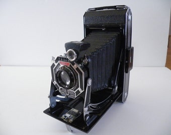 Eastman Kodak Brownie Camera Folding Autographic Eastman Kodak Rochester N.Y. VogueVintageVariety