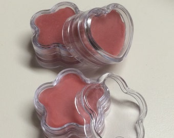 Lip Balm (heart pots)