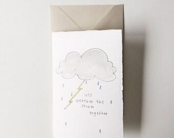 "6 pk ""sympathy"" handmade cards"