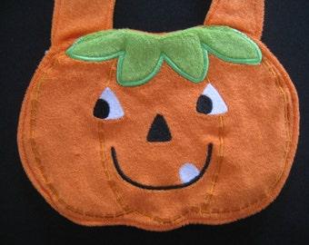 Baby Bib / Halloween Pumpkin