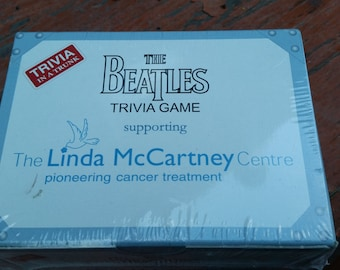 The Beatles Trivia In a Trunk Game Supporting Linda McCartney Centre -NIB