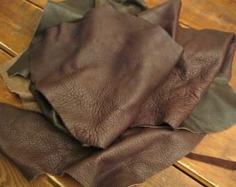 Soft leather scrap