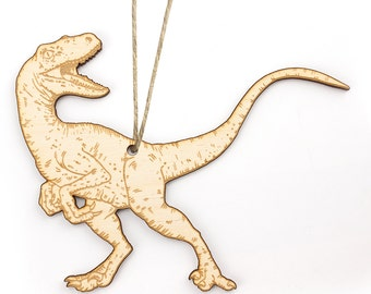 Raptor (Velociraptor) Christmas Ornament
