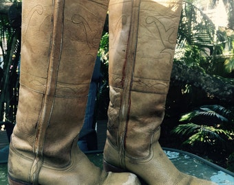 Vintage 70s leather boots