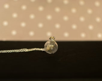 Make a Wish - Dandelion Orb Necklace