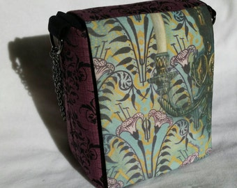 Wall to Wall Creeps #1 purse, Haunted Mansion inspired, Good for Disneybound