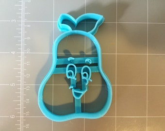 Happy Pear cookie cutter