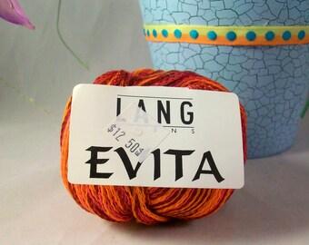 Lang Yarns EVITA Cotton Yarn  Novelty Yarn