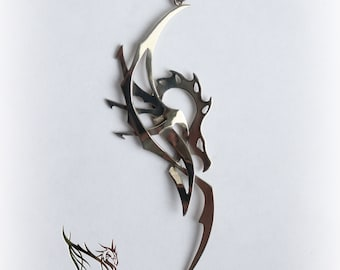 Pendant Dragon Jewelry| Necklace Dragon Jewelry | Art Jewelry Sterling Silver