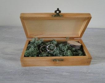 alliance vintage wooden box