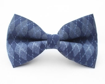 Argyle Bow Tie | Bow Tie for Men | For Him | Bowtie | Self Tie | Dog Bow Tie | Mens Bow Tie | Boys Bow Tie | Wedding Bow Men