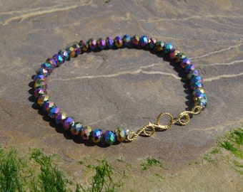 Sparkly Rainbow bracelet