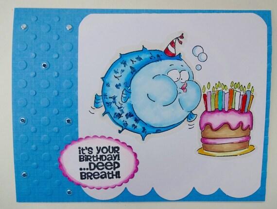 Funny Fishing Birthday Cards Gangcraft
