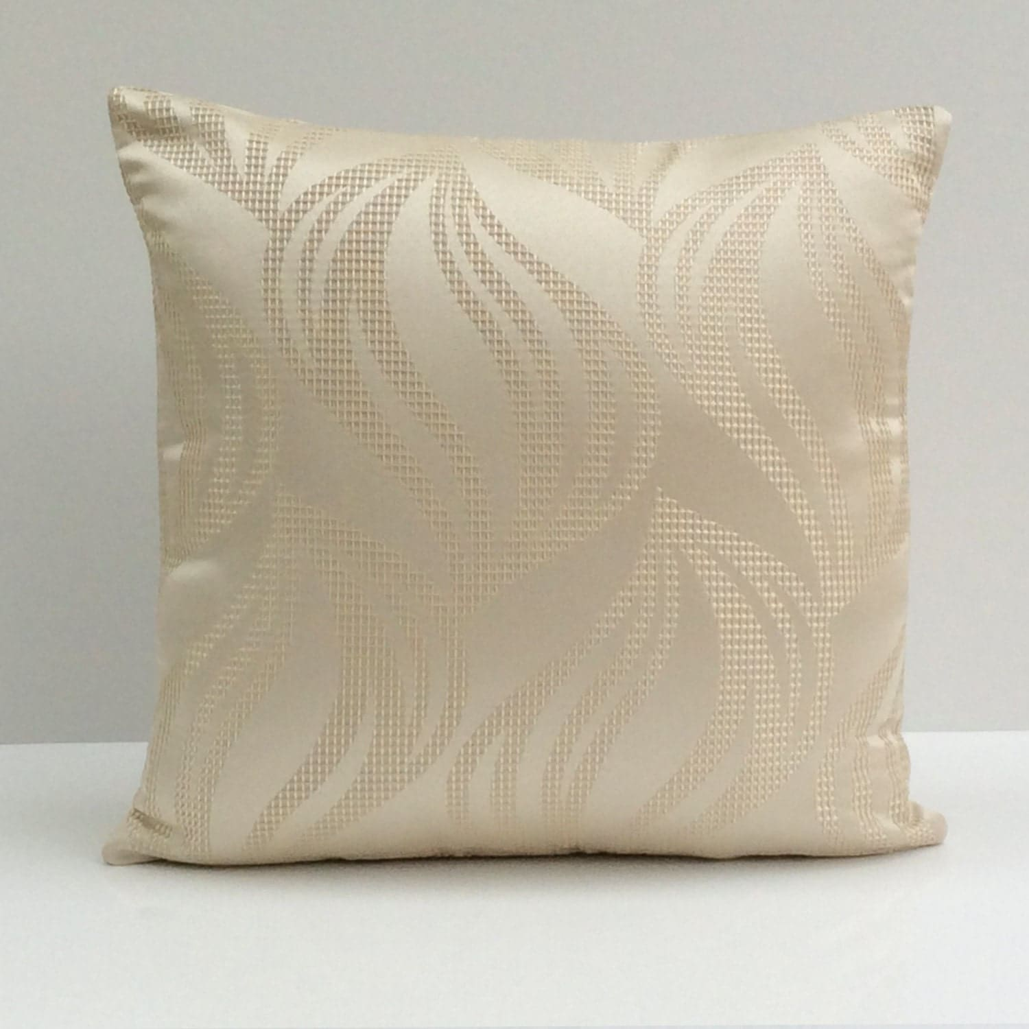 off white ivory pillow throw pillow cover decorative pillow. Black Bedroom Furniture Sets. Home Design Ideas