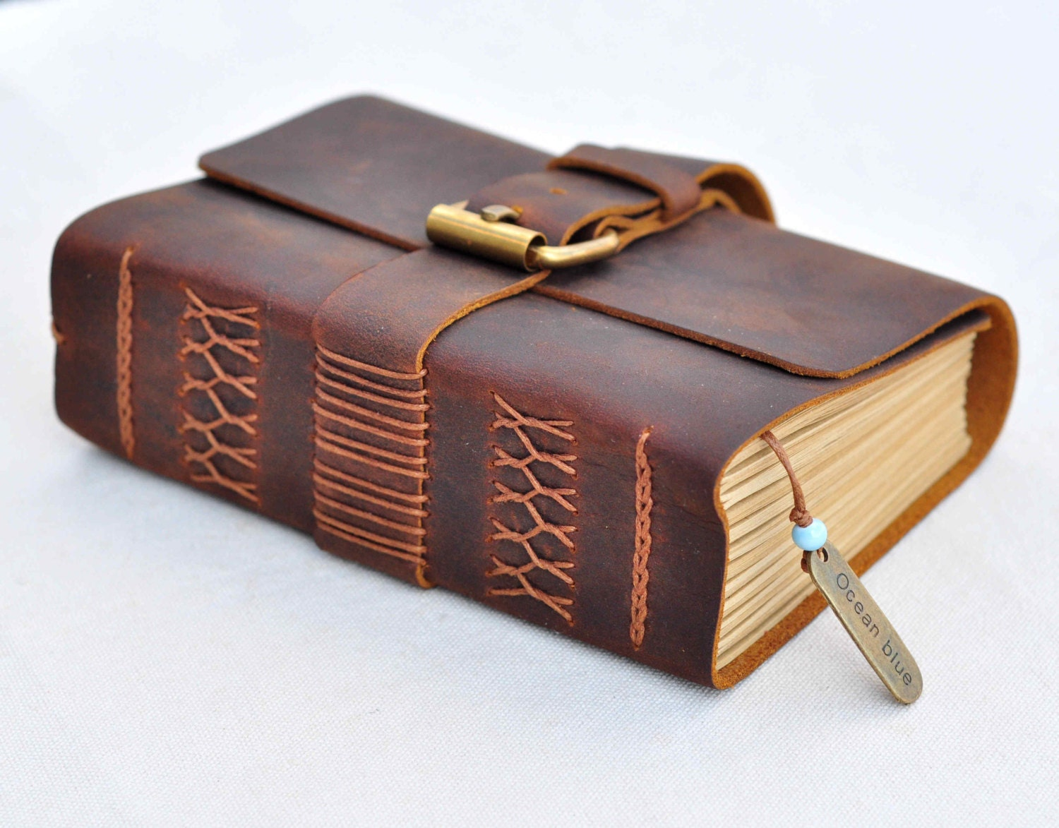 Journal Diary notebook with Vintage Craft Paper good gift