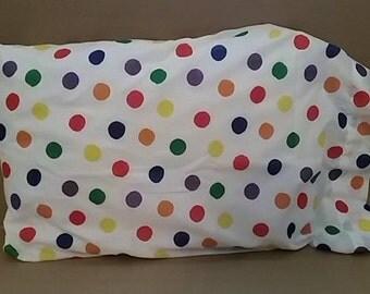 Colorful Polka Dots Queen/Standard Pillowcase! Ready To Ship!