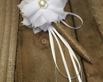 Bridal wedding pen x2