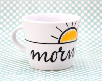 Mornin' - Espresso ceramic cup
