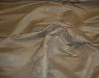 """Upholstery micro  suede  fabric  52 Colors - 58""""  , sold by the yard"""
